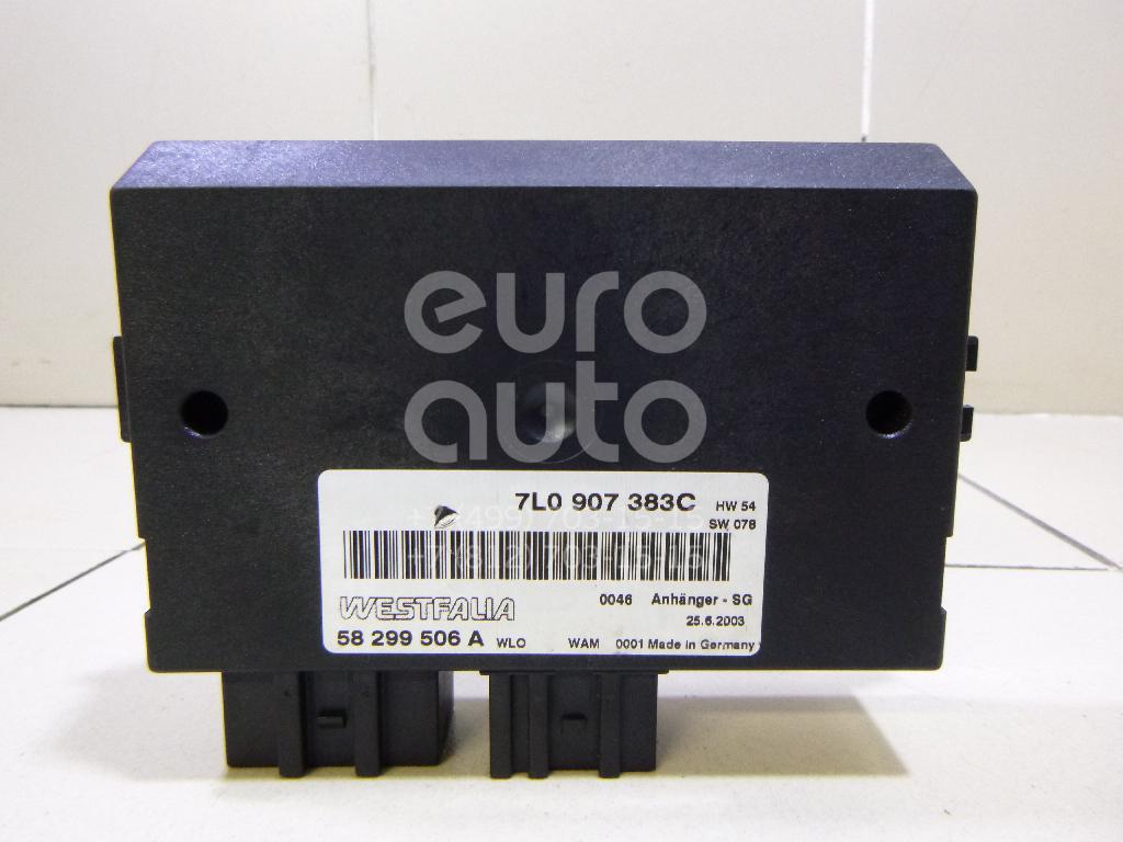 Блок электронный Porsche Cayenne 2003-2010; (7L0907383C)