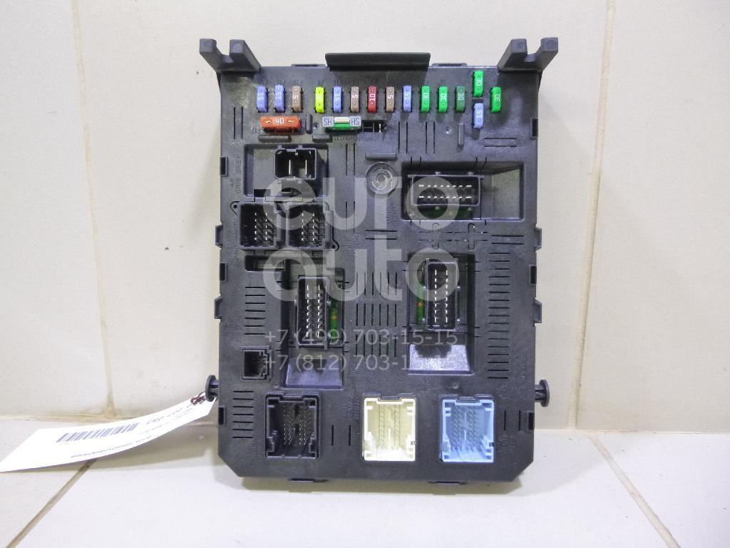 Купить Блок предохранителей Citroen C4 2005-2011; (6580Y5)
