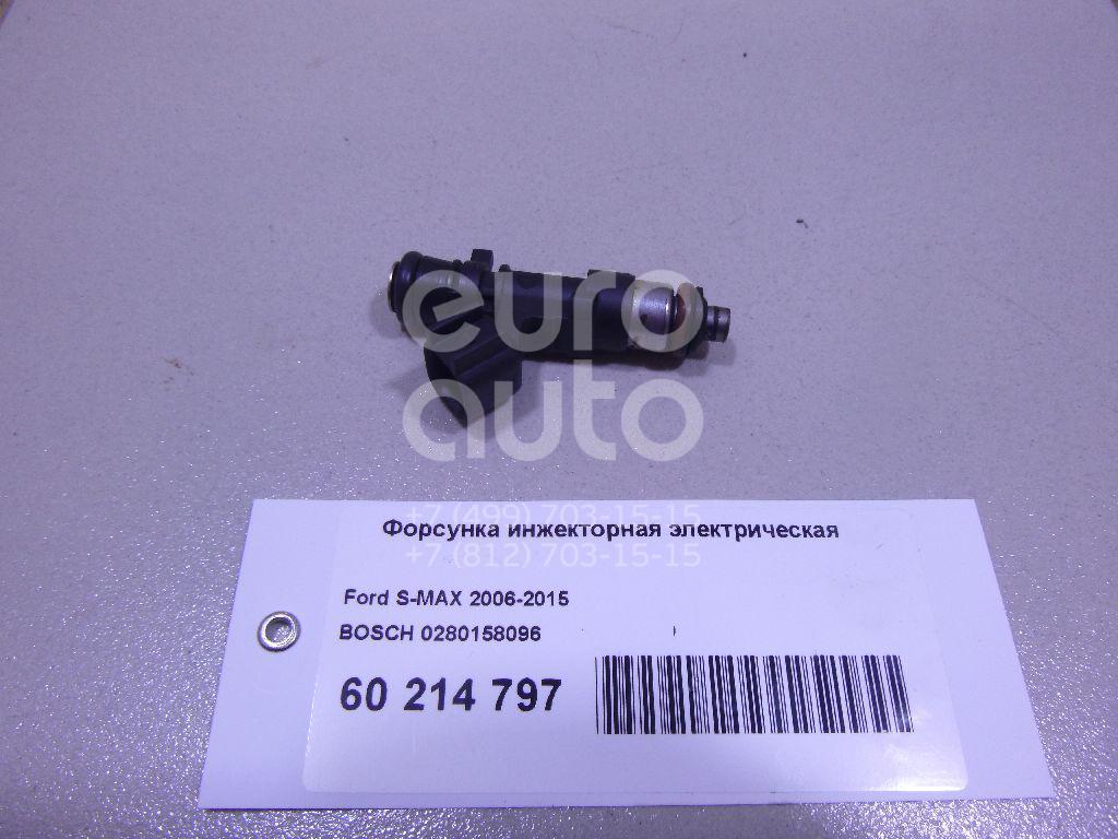 Купить Форсунка инжекторная электрическая Ford S-MAX 2006-2015; (0280158096)