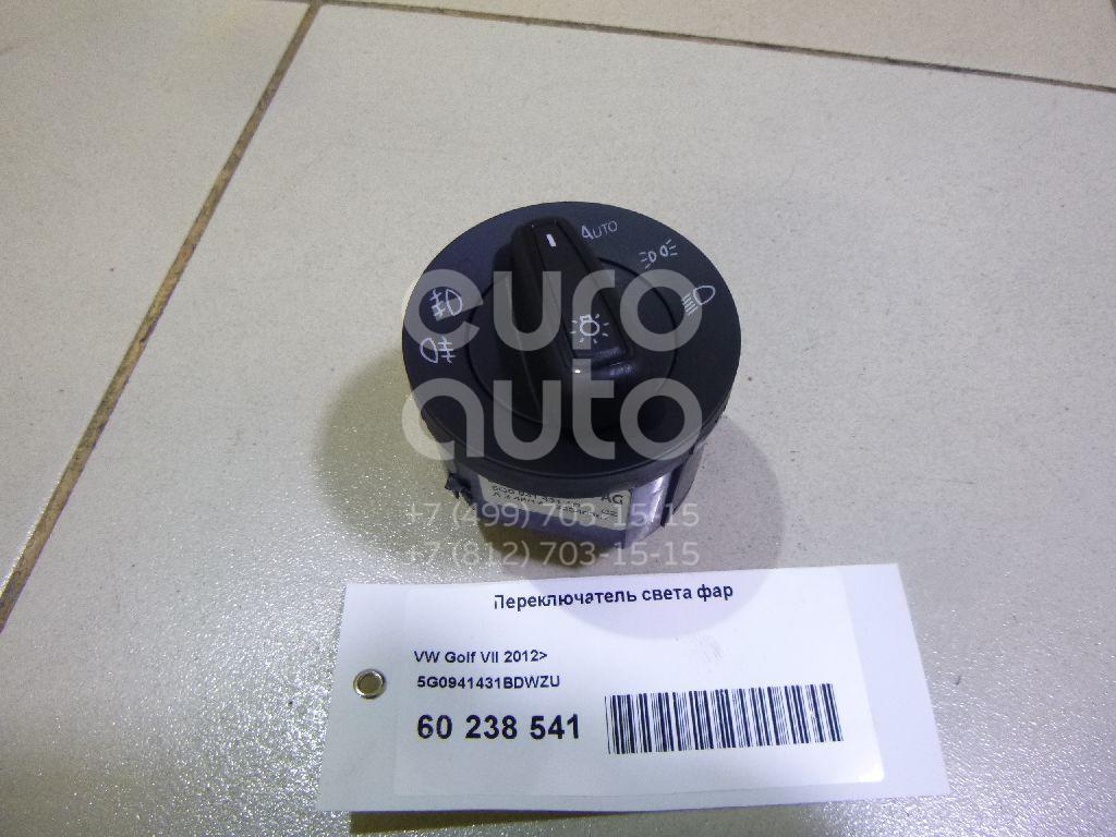 Купить Переключатель света фар VW Golf VII 2012-; (5G0941431BDWZU)