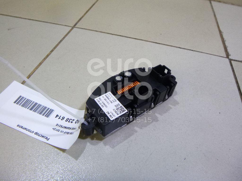 Купить Резистор отопителя VW Golf VII 2012-; (5Q0907521E)