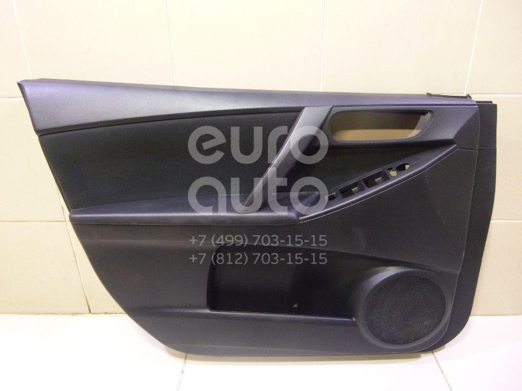 Купить Обшивка двери передней левой Mazda Mazda 3 (BL) 2009-2013; (BBP868460J02)
