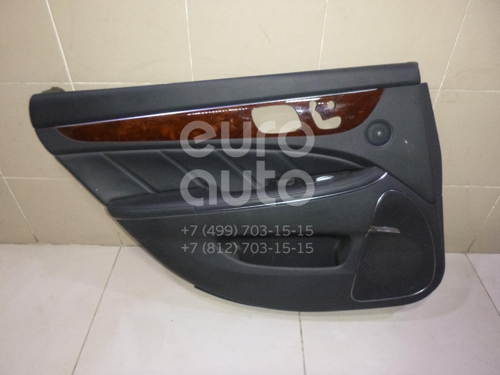 Обшивка двери задней левой Hyundai Equus 2009-2016; (833053NHR0RD4)