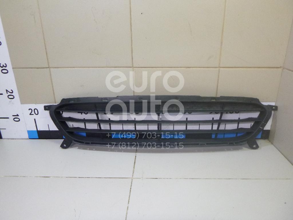 Решетка в бампер центральная Hyundai Solaris 2010-2017; (HN07064GA)