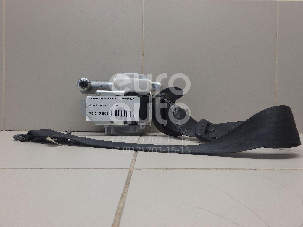 Купить Ремень безопасности с пиропатроном Mitsubishi Lancer (CX, CY) 2007-; (7000A407XB)