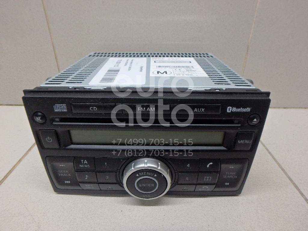 Купить Магнитола Nissan Qashqai (J10) 2006-2014; (28185JD05A)