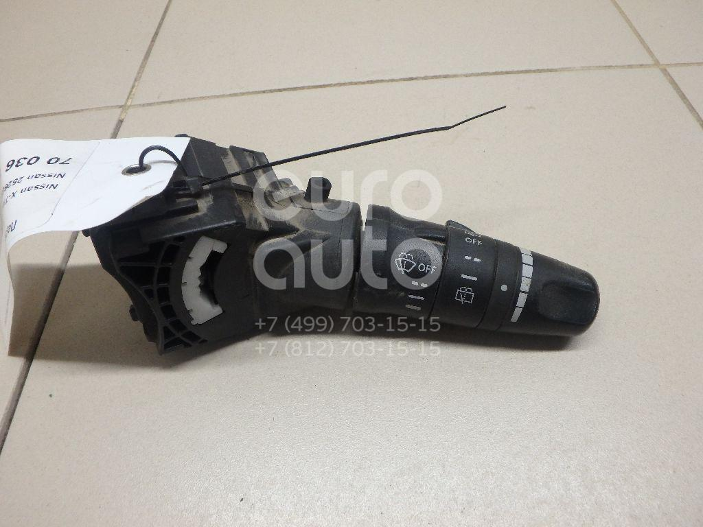 Купить Переключатель стеклоочистителей Nissan X-Trail (T30) 2001-2006; (252608H905)