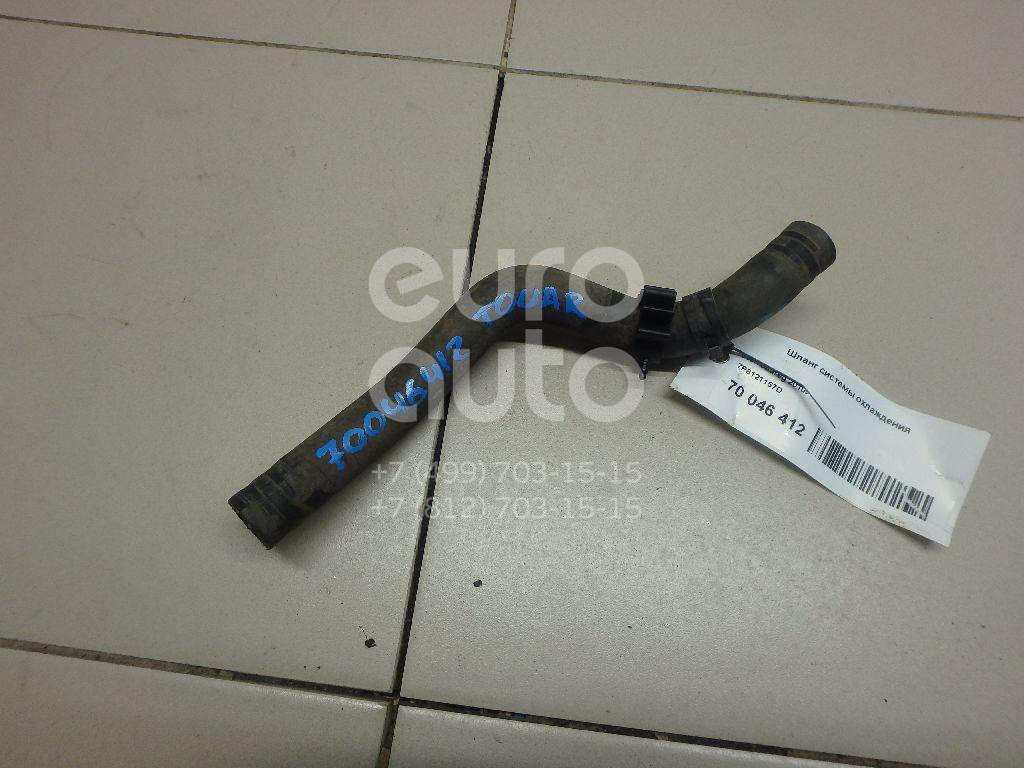 Купить Шланг системы охлаждения VW Touareg 2010-; (7P6121157D)