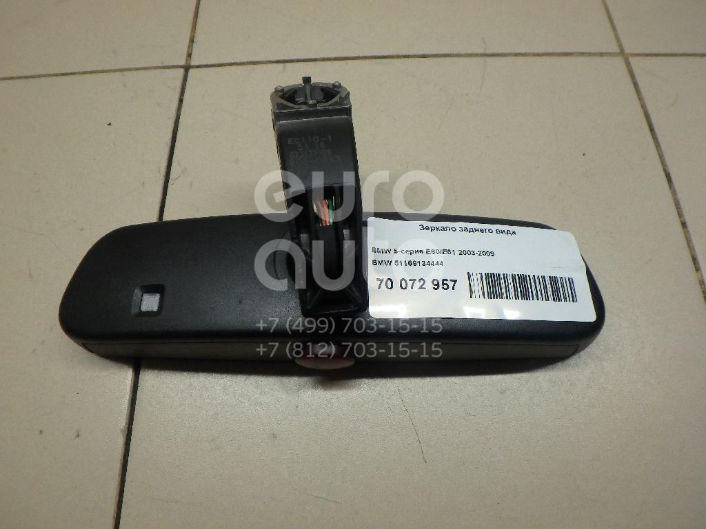 Купить Зеркало заднего вида BMW 5-серия E60/E61 2003-2009; (51169134444)