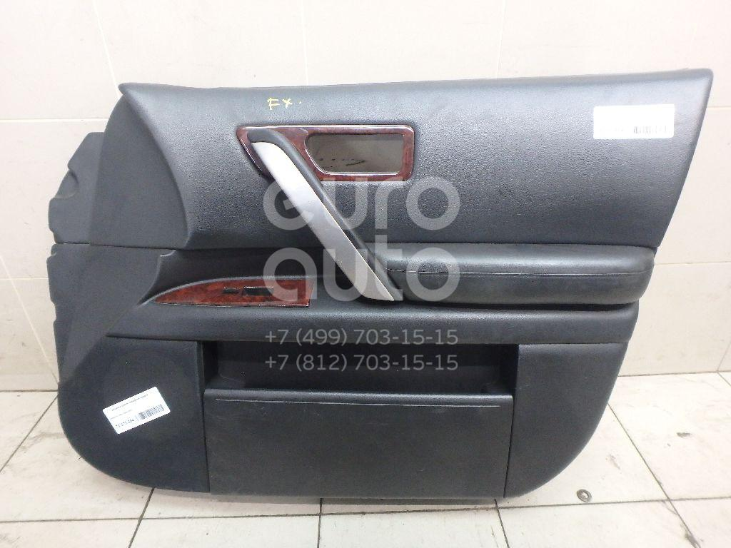 Купить Обшивка двери передней правой Infiniti FX (S50) 2003-2007; (80900CL00B)