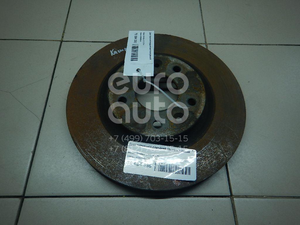 Купить Диск тормозной передний вентилируемый Nissan Qashqai (J11) 2014-; (402064EA0A)