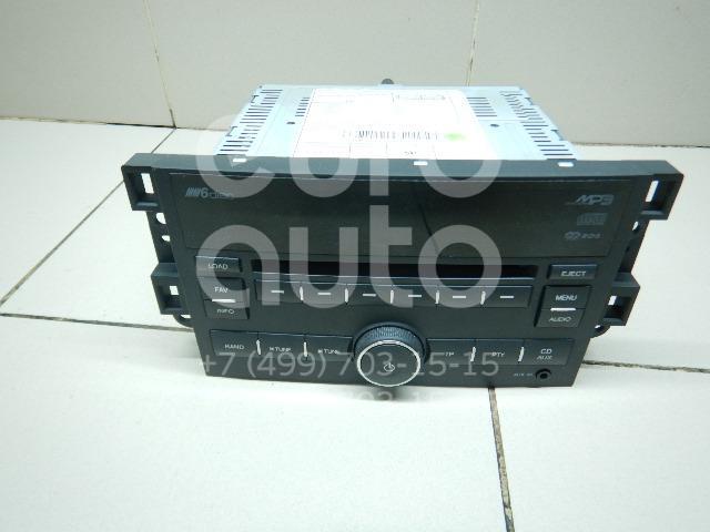 Купить Магнитола Chevrolet Captiva (C100) 2006-2010; (96647740)