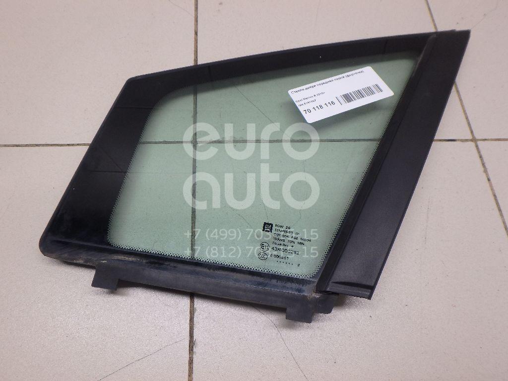 Купить Стекло двери передней левой (форточка) Opel Meriva B 2010-; (5161037)