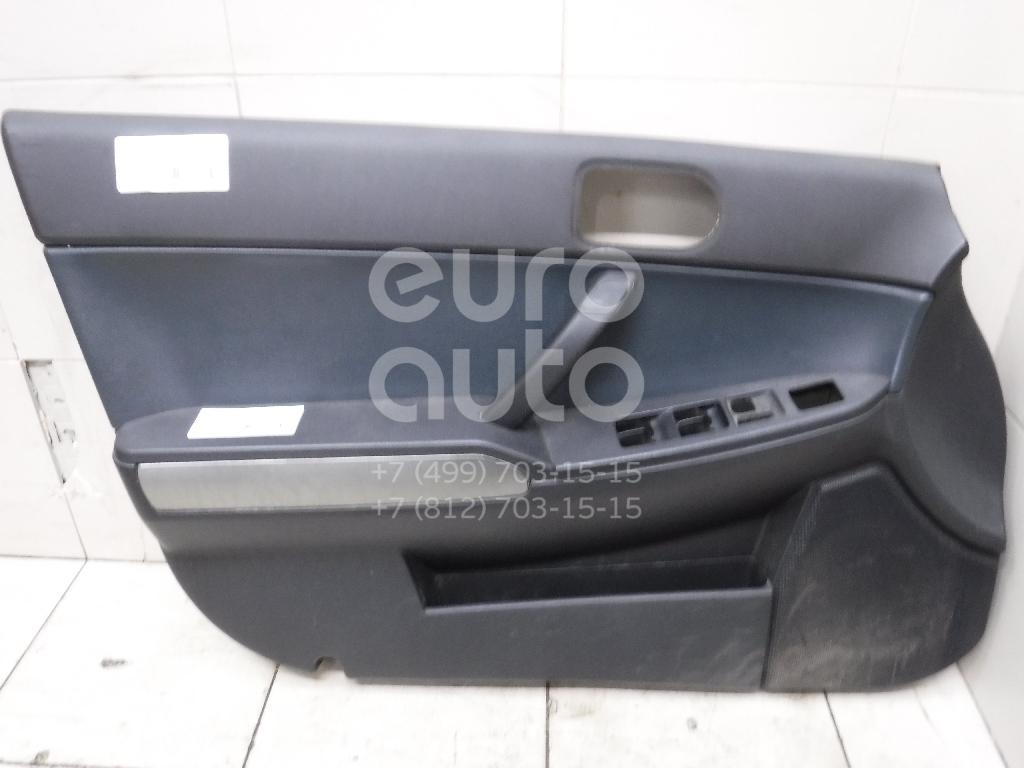 Купить Обшивка двери передней левой Mitsubishi Galant (DJ, DM) 2003-2012; (7221A355XF)