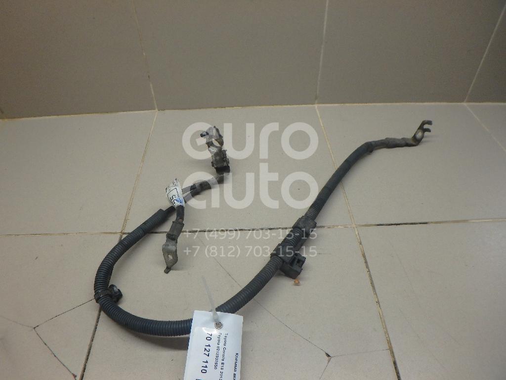 Купить Клемма аккумулятора минус Toyota Corolla E18 2013-; (8212302550)