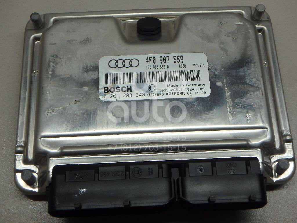 Купить Блок управления двигателем Audi A6 [C6, 4F] 2004-2011; (4F0910559A)