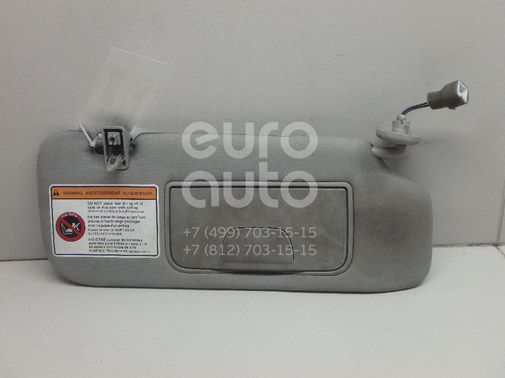 Купить Козырек солнцезащитный (внутри) Chevrolet Captiva (C100) 2006-2010; (96813639)