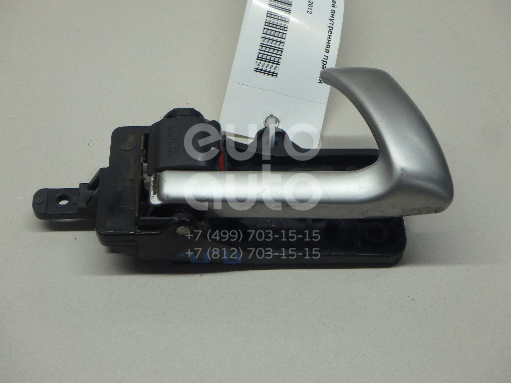 Ручка двери передней внутренняя правая Hyundai Santa Fe (CM) 2006-2012; (826202B010WK)  - купить со скидкой