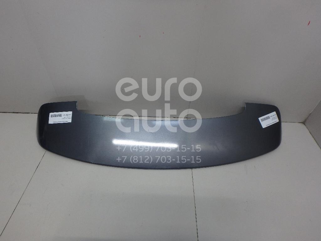 Купить Спойлер (дефлектор) багажника Toyota Avensis III 2009-; (7687105909)