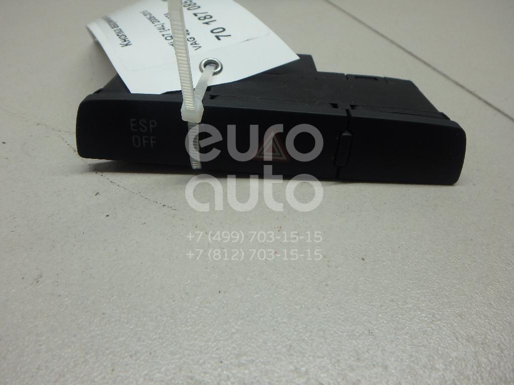 Купить Кнопка аварийной сигнализации Audi Q7 [4L] 2005-2015; (4L1927137A)