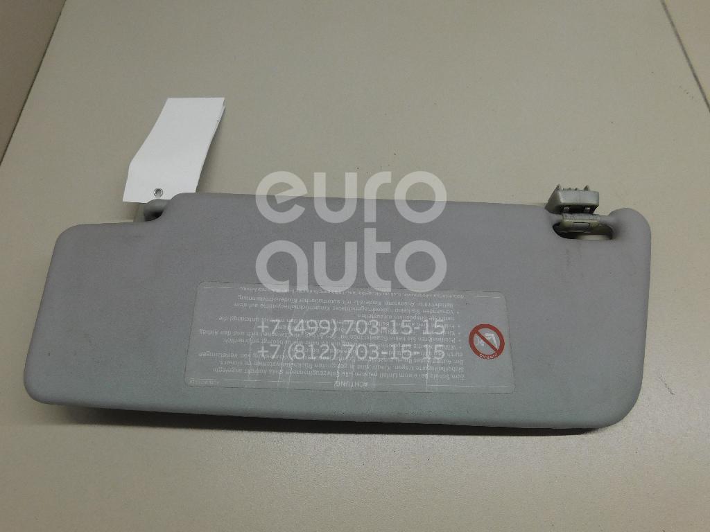 Купить Козырек солнцезащитный (внутри) Mercedes Benz W203 2000-2006; (20381012107D52)