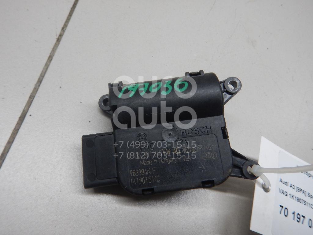 Купить Моторчик заслонки отопителя Audi A3 [8PA] Sportback 2004-2013; (1K1907511C)