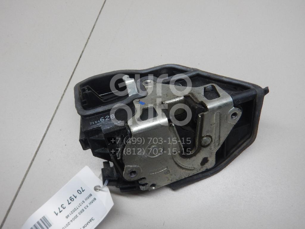 Купить Замок двери передней правой BMW X3 E83 2004-2010; (51217202146)