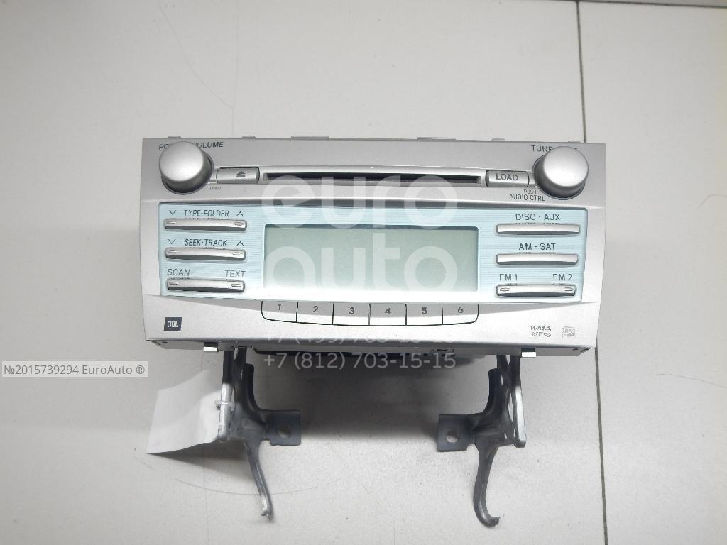 Магнитола Toyota Camry V40 2006-2011; (8612006190)