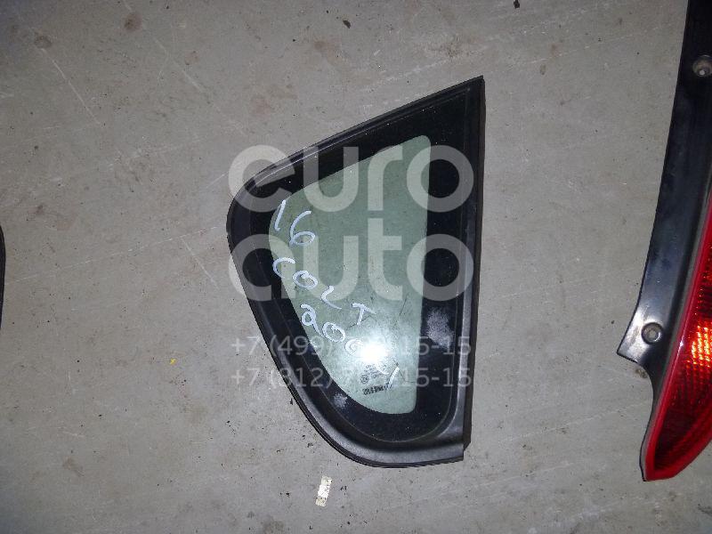 Купить Стекло кузовное глухое правое Mitsubishi Colt (Z3) 2003-2012; (MR957064)