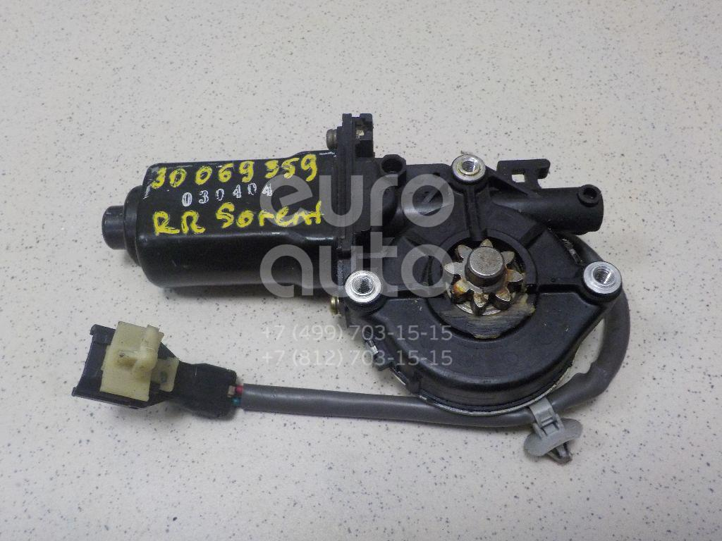 Купить Стеклоподъемник электр. задний правый Kia Sorento 2002-2009; (834023E002)