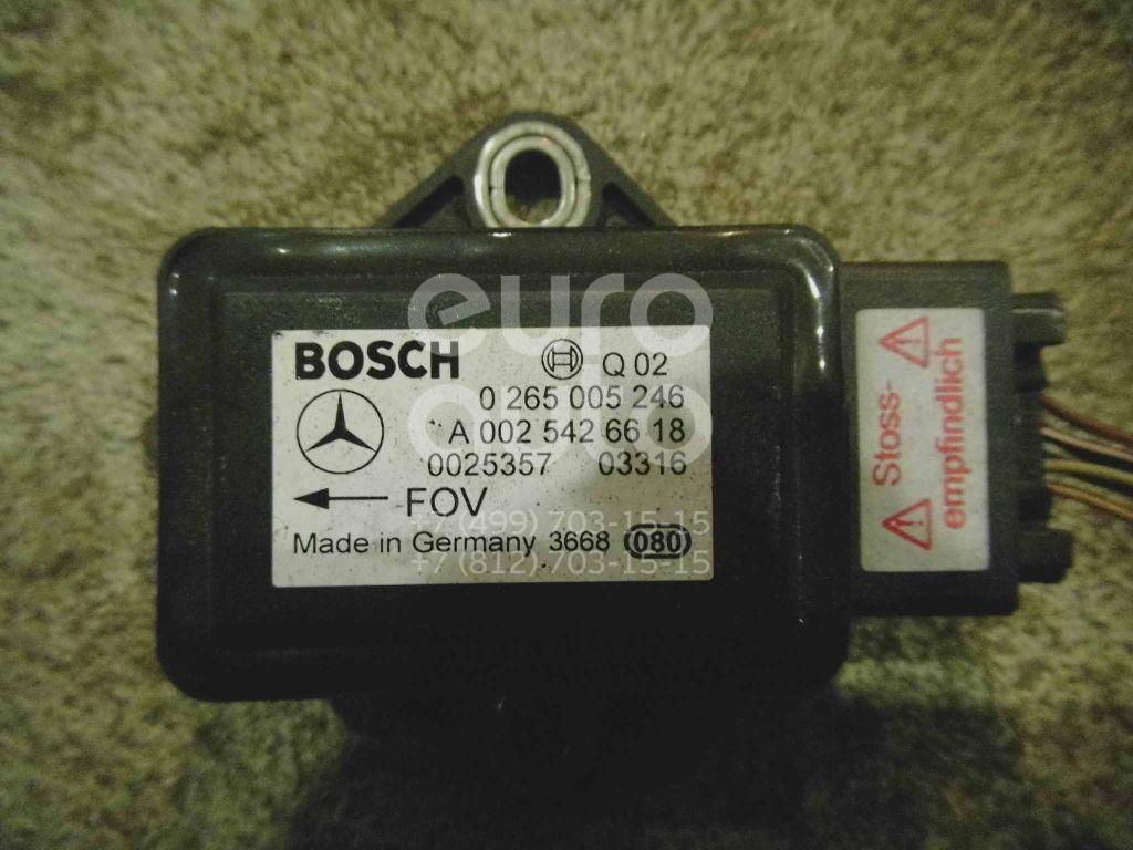 Датчик ускорения Mercedes Benz W211 E-Klasse 2002-2009; (0025426618)  - купить со скидкой