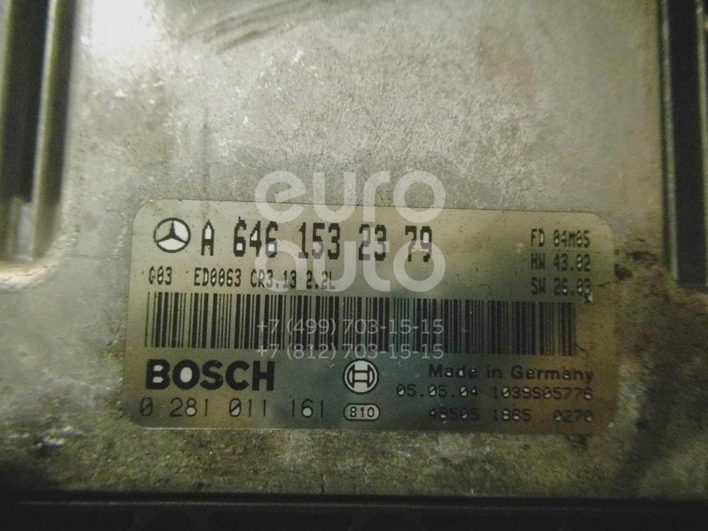 Купить Блок управления двигателем Mercedes Benz W211 E-Klasse 2002-2009; (6461532379)