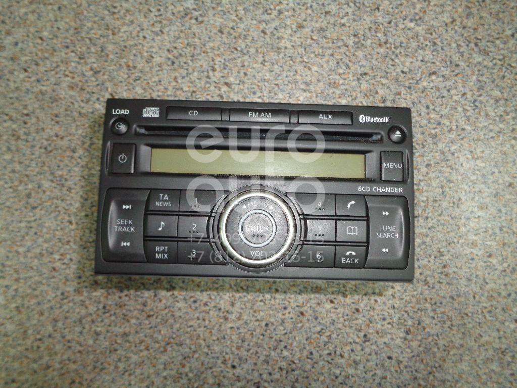 Купить Магнитола Nissan Qashqai (J10) 2006-2014; (28184JD45A)