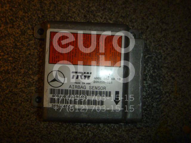Купить Блок управления AIR BAG Mercedes Benz W163 M-Klasse (ML) 1998-2004; (0025424818)