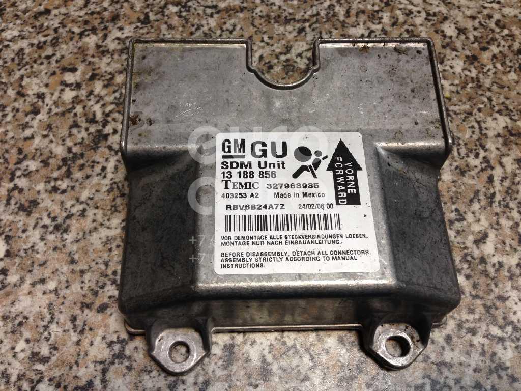 Купить Блок управления AIR BAG Opel Zafira B 2005-2012; (6235479)