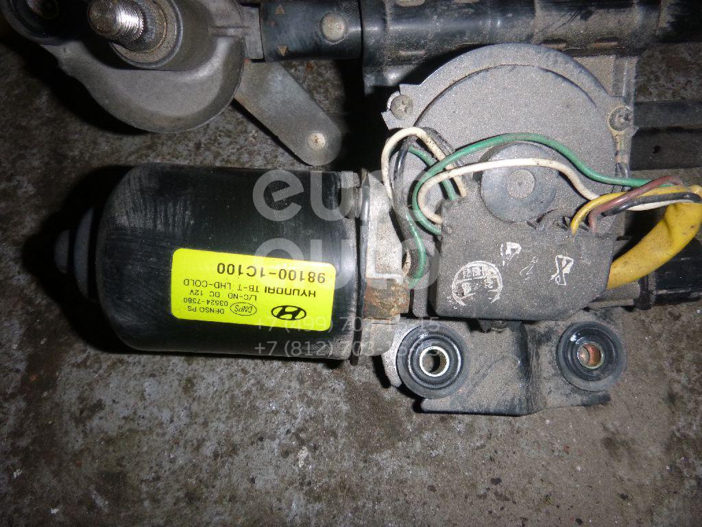 Купить Моторчик стеклоочистителя передний Hyundai Getz 2002-2010; (981101C100)