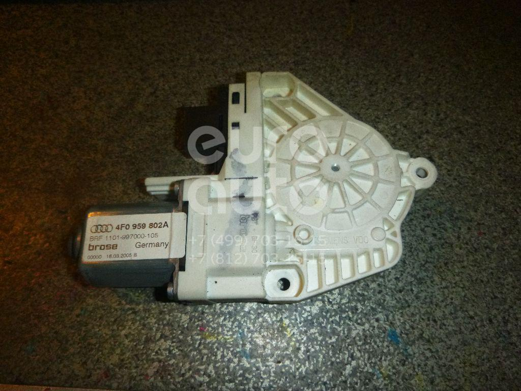 Моторчик стеклоподъемника Audi A6 [C6, 4F] 2004-2011; (4F0959802A)  - купить со скидкой