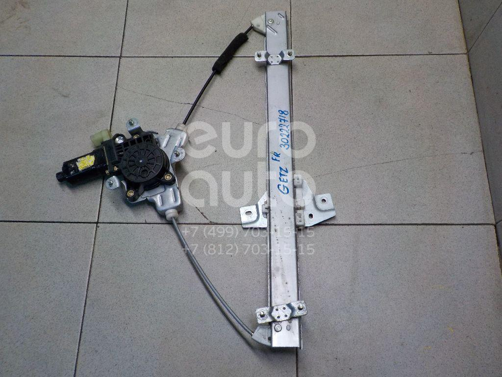 Купить Стеклоподъемник электр. передний правый Hyundai Getz 2002-2010; (824041C010)