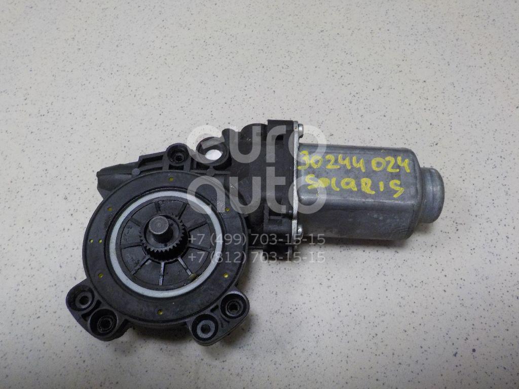 Купить Стеклоподъемник электр. задний правый Hyundai Solaris 2010-2017; (834021R010)