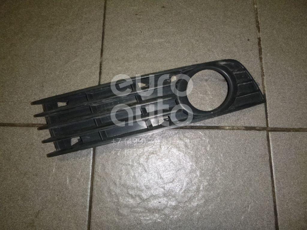 Купить Решетка в бампер правая Audi A4 [B6] 2000-2004; (8E0807682A)