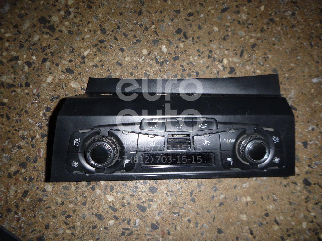 Купить Блок управления климатической установкой Audi A4 [B8] 2007-2015; (8T1820043AQ)