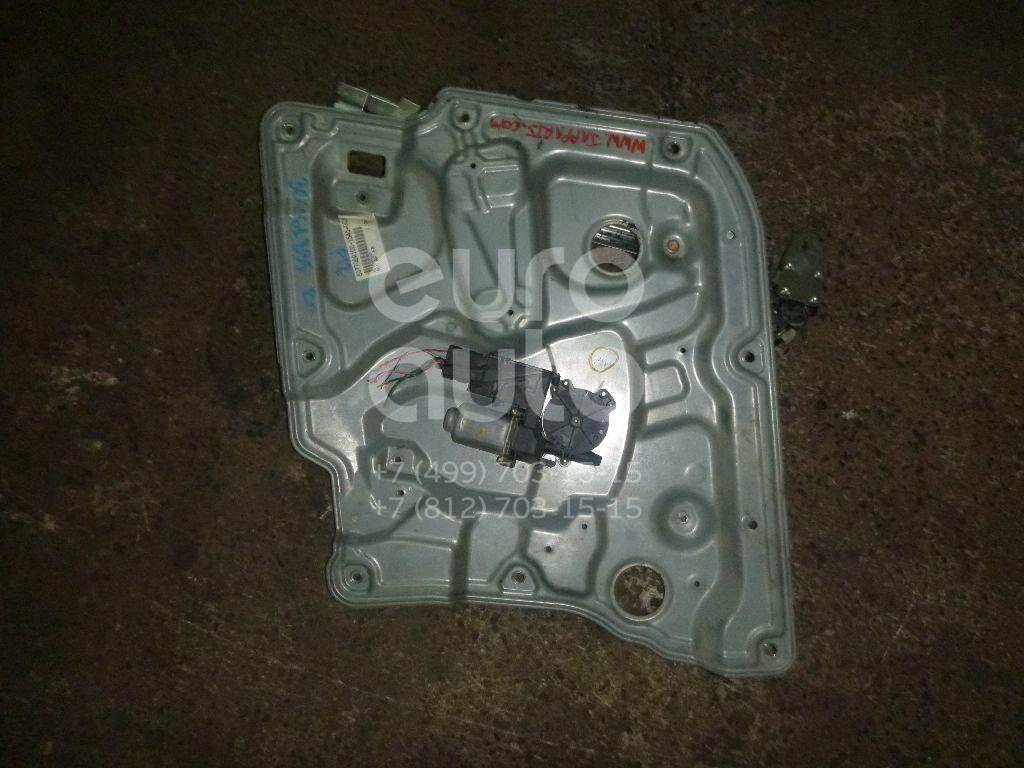 Купить Стеклоподъемник электр. передний правый Nissan Primera P12E 2002-2007; (80770AV610)
