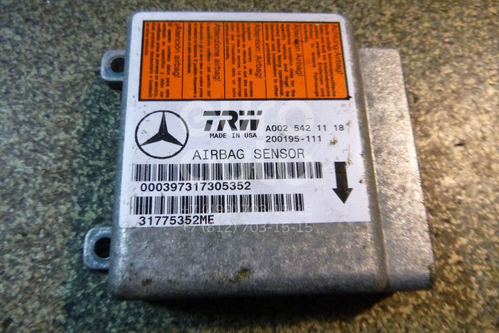 Купить Блок управления AIR BAG Mercedes Benz W163 M-Klasse (ML) 1998-2004; (0025421118)