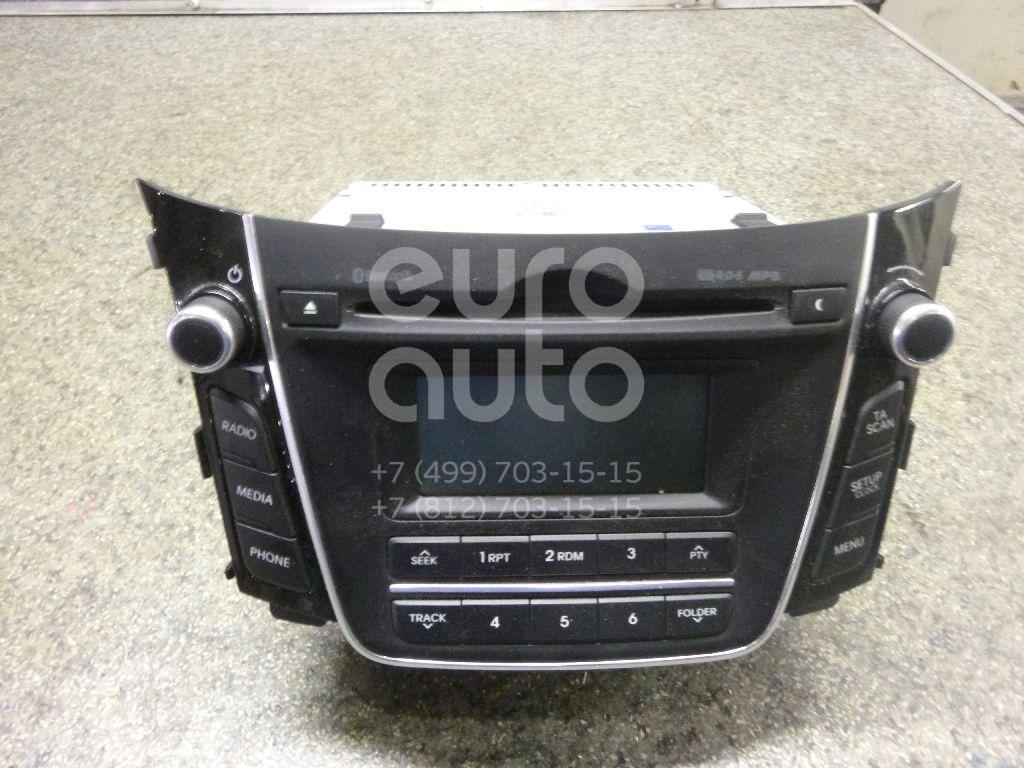 Купить Магнитола Hyundai i30 2012-; (96170A6210GU)