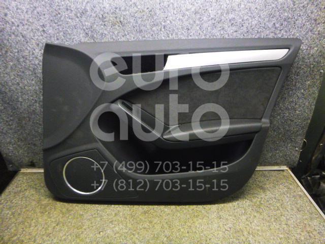 Обшивка двери передней правой Audi A4 [B8] 2007-2015; (8K0867104AJWFA)  - купить со скидкой