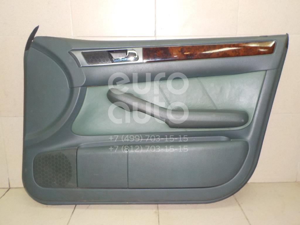 Купить Обшивка двери передней правой Audi Allroad quattro 2000-2005; (4B1867104M1G6)