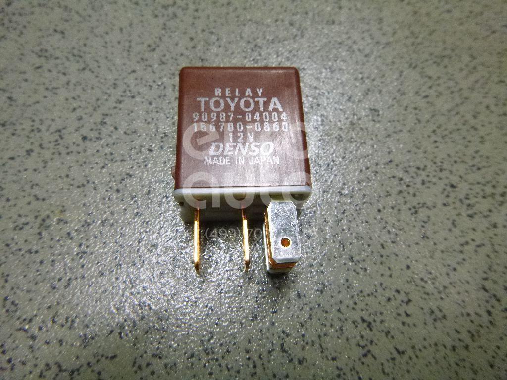 Купить Реле вентилятора радиатора Toyota RAV 4 2013-; (9098704004)