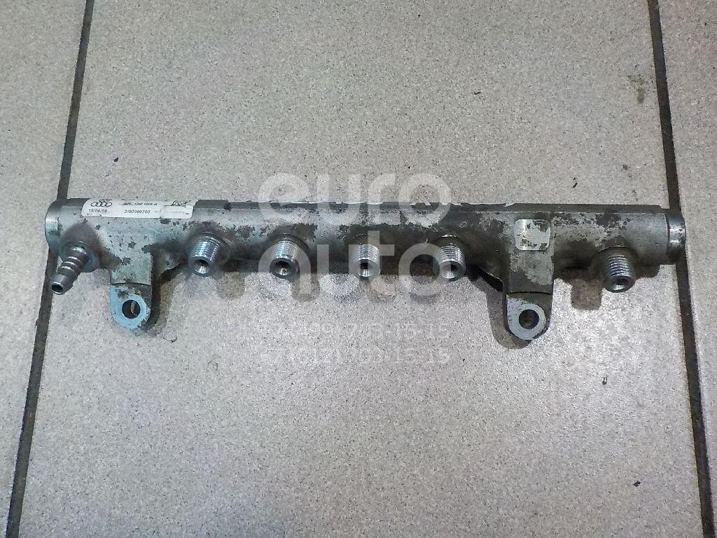 Купить Рейка топливная (рампа) Audi A4 [B8] 2007-2015; (03L130089A)