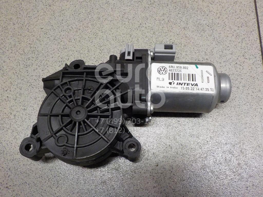 Купить Моторчик стеклоподъемника VW Polo (Sed RUS) 2011-; (6RU959802)