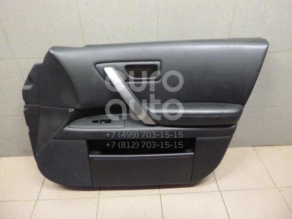 Купить Обшивка двери передней правой Infiniti FX (S50) 2003-2007; (80900CM80B)